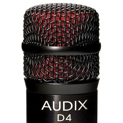 Audix D4 Kick/Bass/Tom Drum Microphone     D - Bass Microphone
