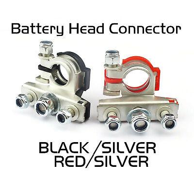 2pcs Battery Terminal Connector Universal Car Auto Positivenagative Heavy Duty