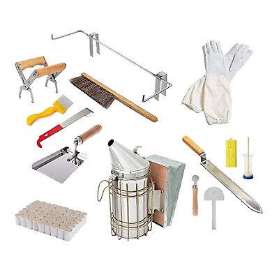 14pcs Beekeeping Equipment Tool Set Supplies Bee Hive Smoker Brush Tools