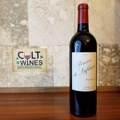 """JS 97 pts! 2016 """"Les Pensees"""" de Chateau Lafleur Bordeaux wine, Pomerol"""