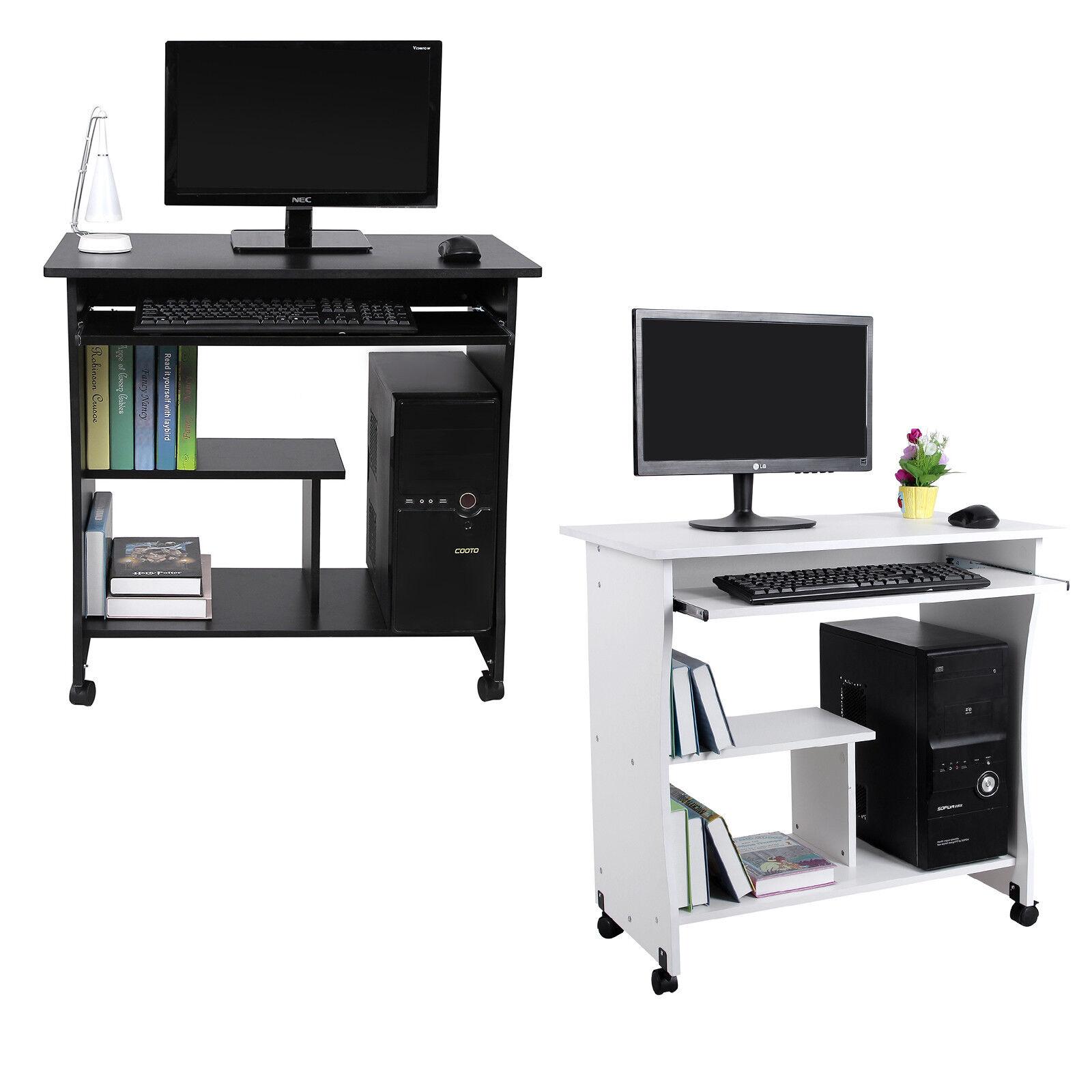 songmics computertisch schreibtisch b rotisch arbeitstisch kindertisch pc tisch eur 41 99. Black Bedroom Furniture Sets. Home Design Ideas