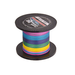 100% PE Dyneema 4strands Spectra braid Fishing Line 500M