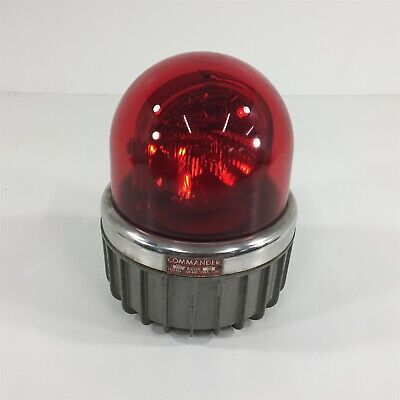 Federal Signal Commander 371 Red Beacon Series A2 250vdc
