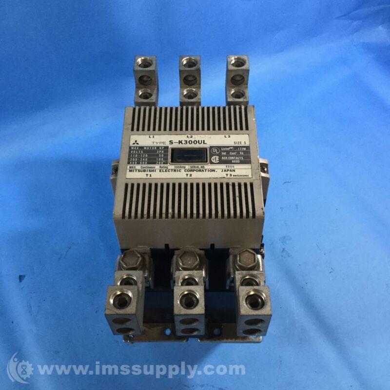 MITSUBISHI ELECTRIC S-K300UL 3PH CONTACTOR, SIZE 5 USIP
