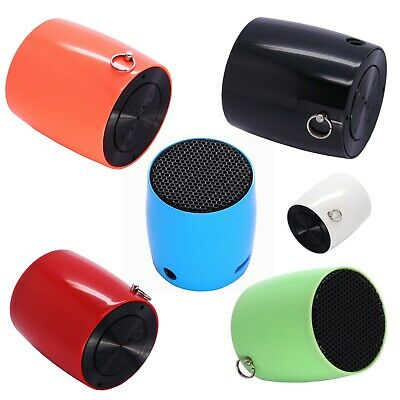 [Portable Ultra Light] Mini Drum Bluetooth Speaker with Selfie Camera feature