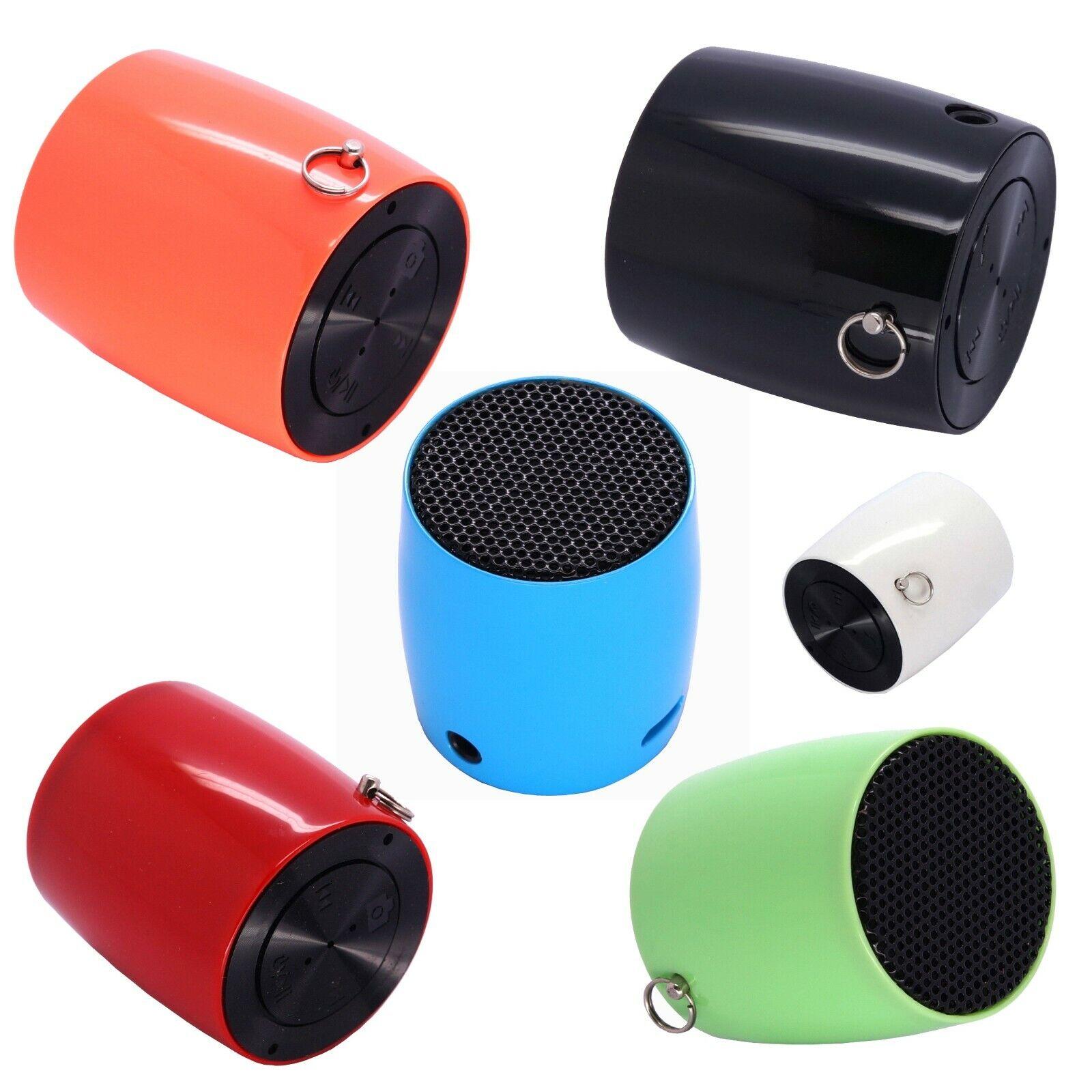 Mini Drum Bluetooth Speaker with Selfie Camera feature