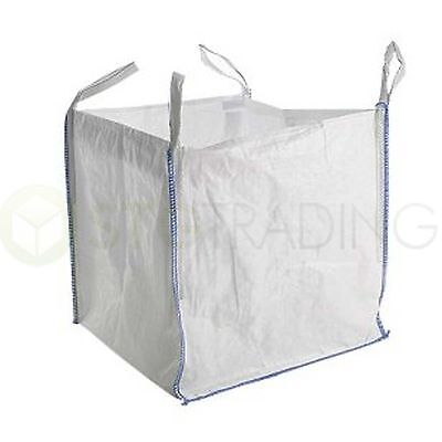 1 Ton  Bulk Bag x 25 Builders Rubble Sack FIBC Tonne Jumbo Waste Storage ALPHA