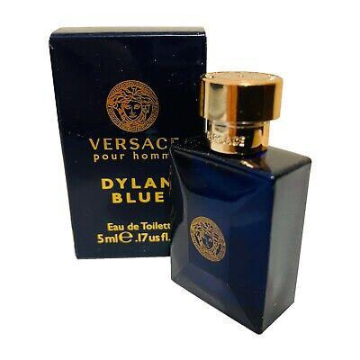 Versace Pour Homme Dylan Blue 5ml EDT Miniature Mini for men, Boxed