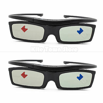 2 XGlasses  For Samsung SSG-5100GB Active 3D Substitute for RF3D  ELPGS03