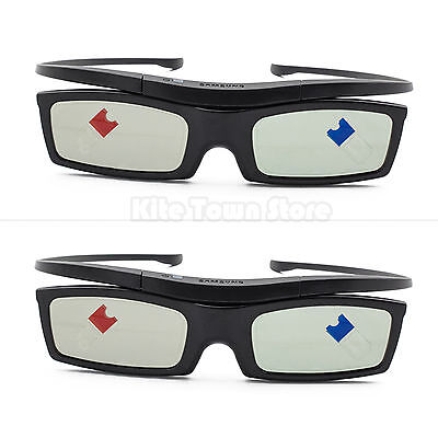 2PCS Samsung SSG-5100GB Active 3D Glasses Battery Operated 2013 Models US