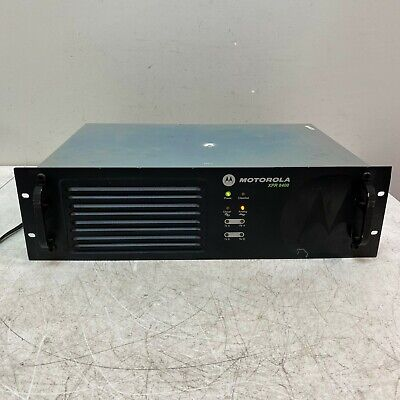 Xpr8400 Uhf 403-470mhz 40watt Repeater Model Aam27qpr9ja7bn Tested Working