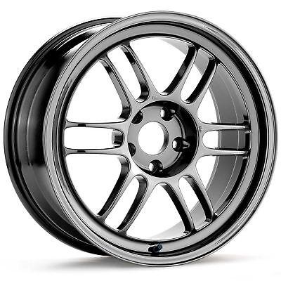 4 Enkei Racing RPF1 18x9.5 5x114.3 +15mm SBC Wheels/Rims