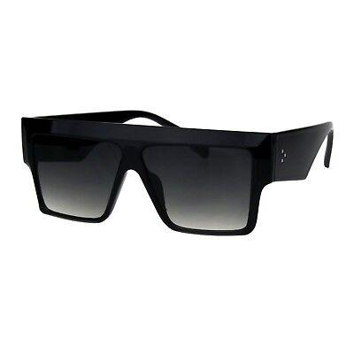 Flat Top Square Sunglasses Womens Modern Fashion Boyfriend Shades UV (Flat Top Boyfriend Sunglasses)