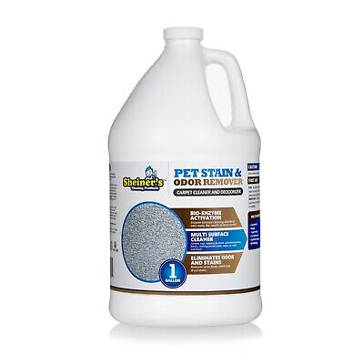 Sheiner's Pet Stain & Odor Remover, Bio Enzyme Carpet Cleaner, 1 Gallon