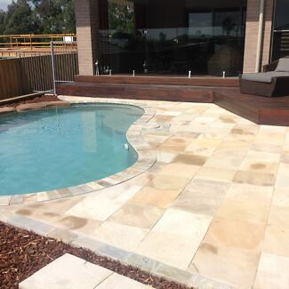 400x400 Himalayan Sandstone Pavers Sandgate Newcastle Area Preview