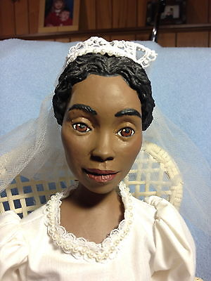 Wood Resin - African American/Ethnic - Daddy's Long Legs - Bride