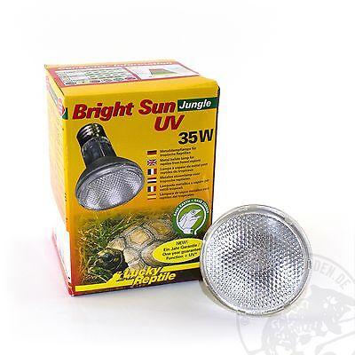 Lucky Reptile Bright Sun UV Jungle 35 Watt  UVA UVB Strahler Neu - für Reptilien