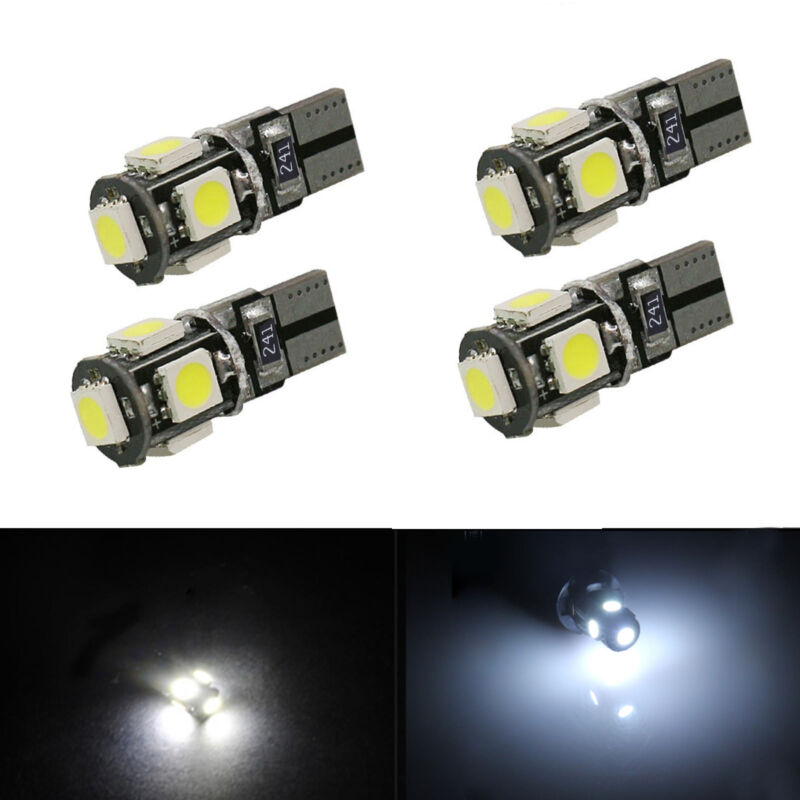 T10 CAR SIDE LIGHT BULB CANBUS ERROR FREE XENON WHITE LED 501