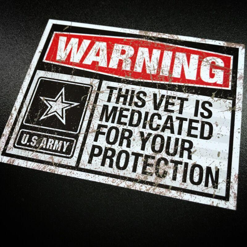Medicated Veteran ARMY - Sticker