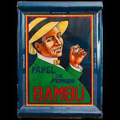 BAMBU TRAY KITCHEN TREES HERB GANJA COLLEGE DECORATION FUN CLASSIC LOGO ROLL UP! ()