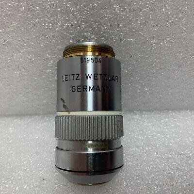 Leitz Wetzlar Npl Fluotar 100x 1.32 Oel 1600.17 519504vintage Germany