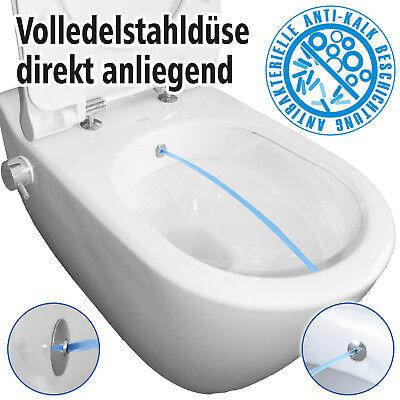 Dusch WC TEMTASI Mineral Armatur Bidet spülrandlos Taharet antibakteriell M3 ()
