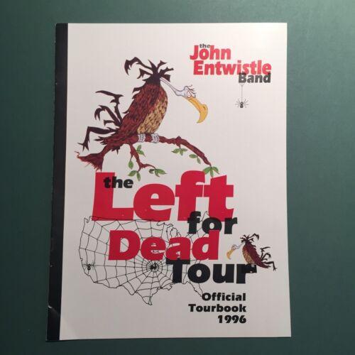 The Who / John Entwistle Band 1996 Tour Program With John