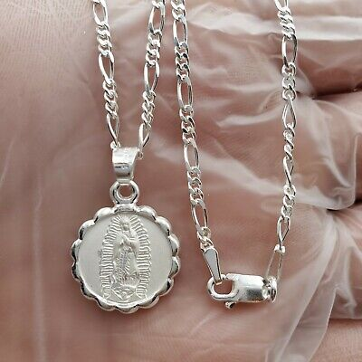 GA-A silver medal chain necklace 925