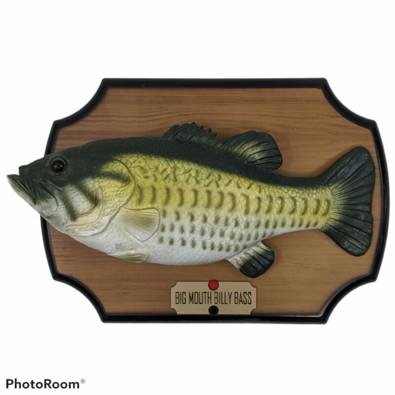 Big Mouth Billy Bass Singing Fish Take Me to the River Don