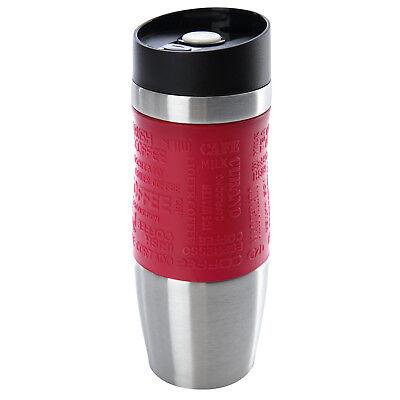 Thermobecher Kaffeebecher Thermosbecher Isolierbecher Reisebecher Travel Mug Rot