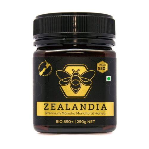 Zealandia Manuka Honey MGO 550+ (250g) Certified, Premium Quality, Free shipping