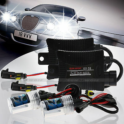55W CANBUS XENON HID CONVERSION KIT H7 6000K DIAMOND WHITE ERROR FREE