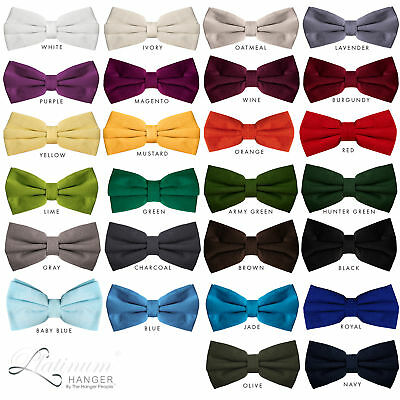 Cheap Bow Ties (Bow Tie for Men Ties – Men's Pre Tied Formal Tuxedo Bowtie for Adults &)