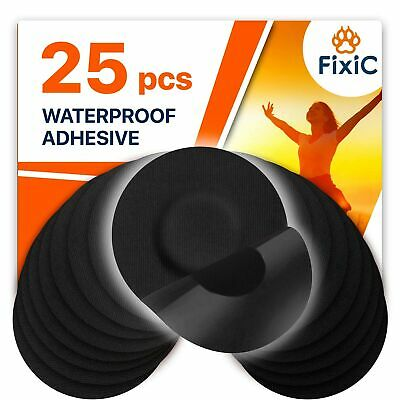 Freestyle Libre Adhesive Patches by Fixic – Good for Enlite, Guardian – 25 PCS
