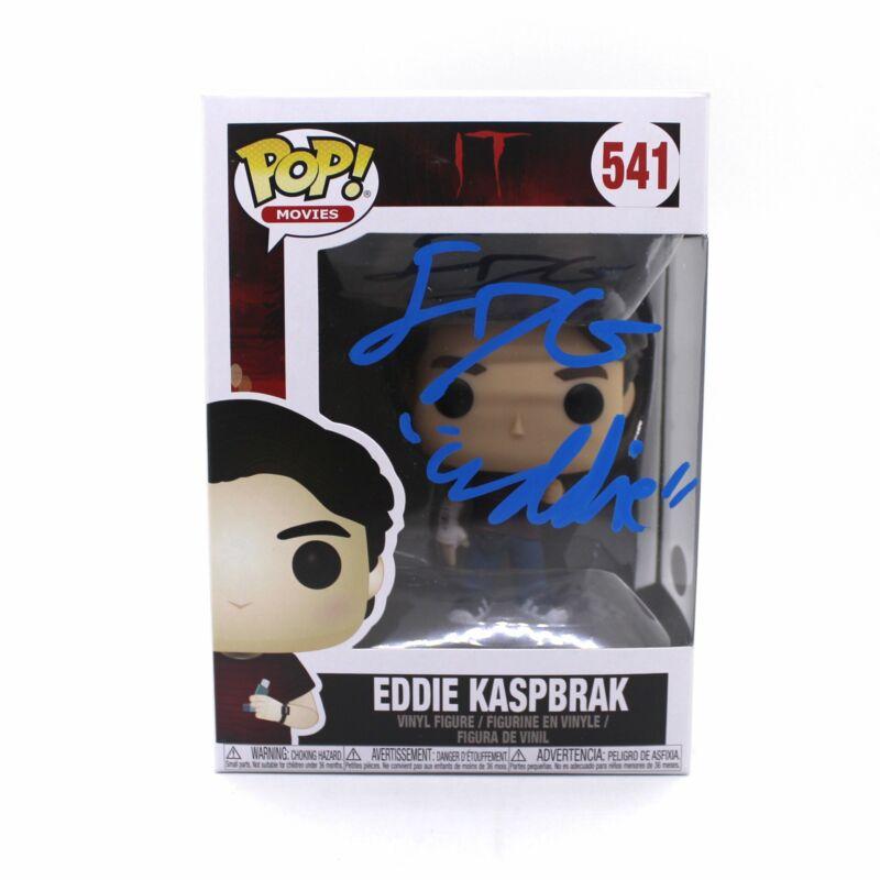Jack Dylan Grazer Autograph Signed Funko Pop IT Eddie Kaspbrak JSA COA