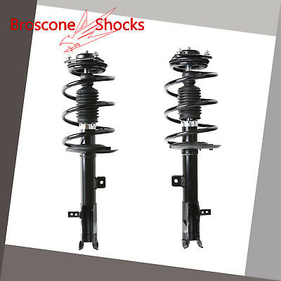 For 07 08 09 10 11-14 Jeep Patriot Compass Front Pair Complete Shocks & Struts