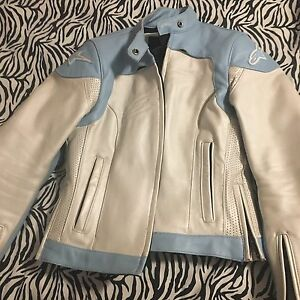 Alpine Star Leather Bike Jacket