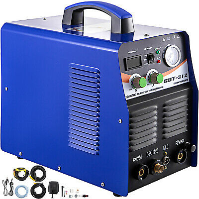 Plasma Cutter Tig Welder Ct312 Tig Mma 3 In 1 Non-touch Pilot Arc Torch 110220v