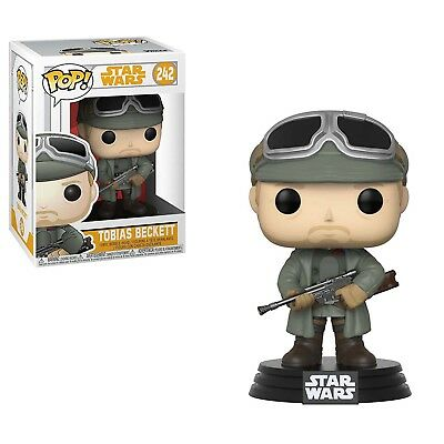 Funko Star Wars Solo Movie POP Tobias Beckett Vinyl Figure NEW IN STOCK Toys