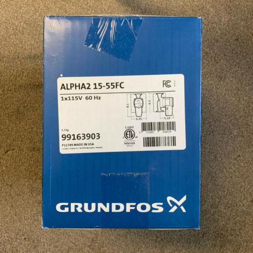 GRUNDFOS ALPHA2 15-55FC Pump
