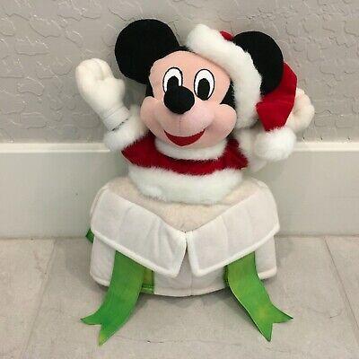 VTG Walt Disney Co Disney Mickey Mouse Christmas Tree Topper RARE