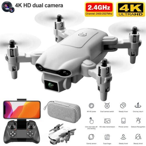 2021 New RC Drone 4k HD Wide Angle Camera WIFI FPV Drone Dual Camera Quadcopter Camera Drones