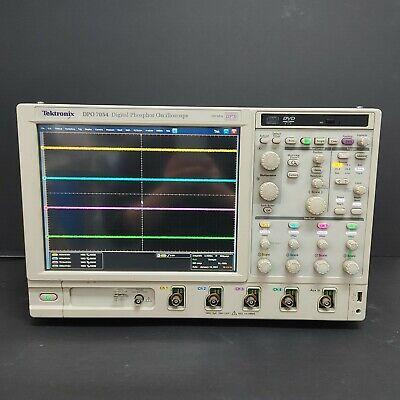 Used Tektronixdpo7054- Digital Phosphor Oscilloscope 500mhz Opt. Std