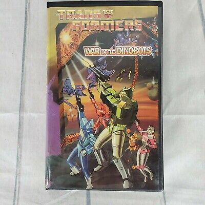 The Transformers VHS Movie Vintage 1995 War of the Dinobots Classic Animation