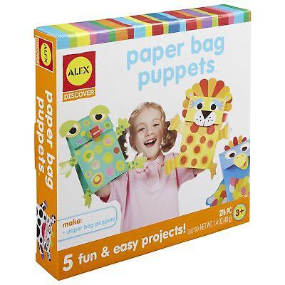 ALEX Discover Paper Bag Puppets](Paper Bag Puppets)