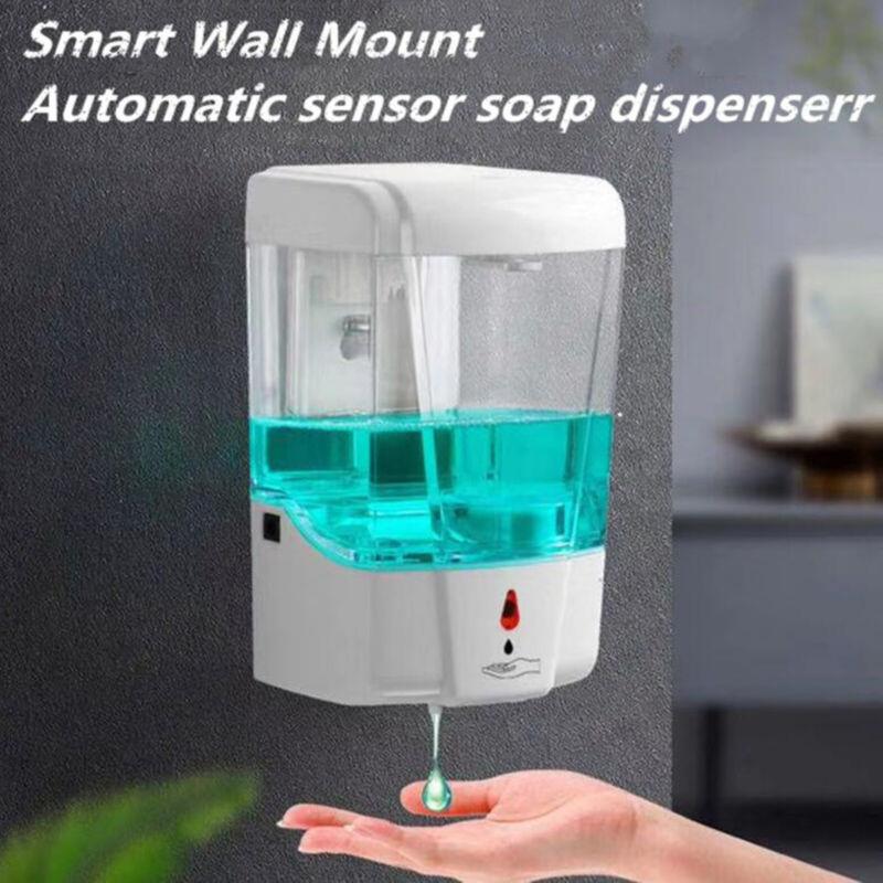 700ML Automatic Liquid Soap Dispenser Sensor Wall Mount Sanitizer Touchless