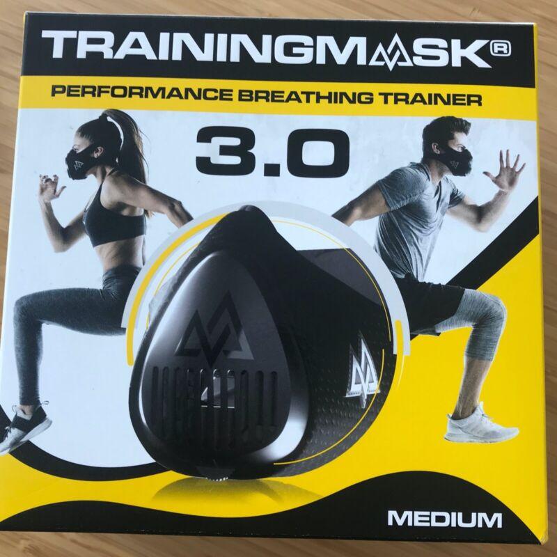 Training Mask 3.0 Face Mask, Medium - Black