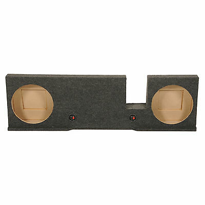 Q Power Dual 12-Inch Subwoofer Enclosure for Ford F150 XCab/ SuperCrew 2004-2008