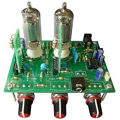 iGen Max - Two Tube Regenerative Radio Kit with Varactor Tuning & Plug-In Coils