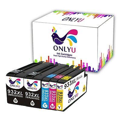 5 Drucker Patronen für HP 932 933 XL Officejet 6100 7110 All-in-One ePrinter (Hp All In One Drucker 6100)